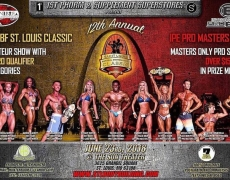Our Personal Trainer LaDonna Hudson at the Saint Louis Natural Bodybuilding Classic